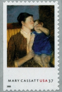 www.usstampgallery.com >> US Postage Stamp >> Young Mother 1888