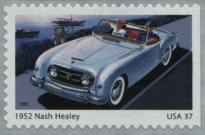 www.usstampgallery.com >> US Postage Stamp >> 1952 Nash Healey