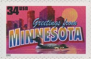 US Stamp Gallery >> Minnesota