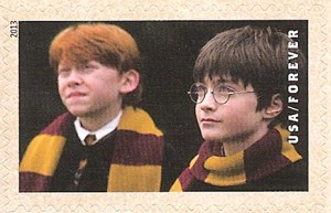 US Stamp Gallery >> Harry Potter and Ron Weasley