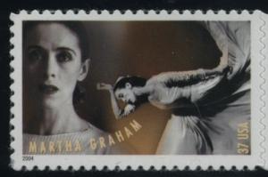 US Stamp Gallery >> Martha Graham