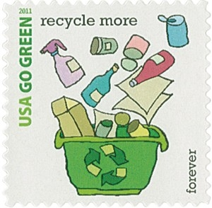 US Stamp Gallery >> Recycle More