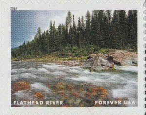 US Stamp Gallery >> Flathead River