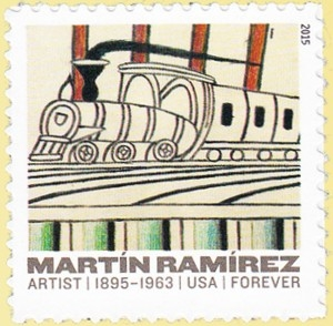 US Stamp Gallery >> Trains on Inclined Tracks