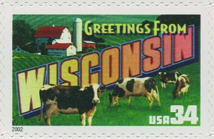 www.usstampgallery.com >> US Postage Stamp >> Wisconsin