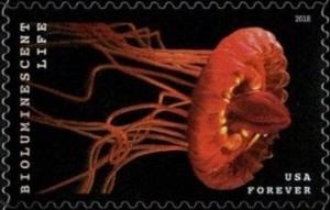 US Stamp Gallery >> Crown Jellyfish