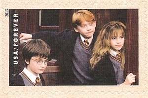US Stamp Gallery >> Harry Potter, Ron Weasley, and Hermione Granger