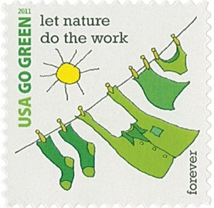 US Stamp Gallery >> Let Nature Do the Wiork