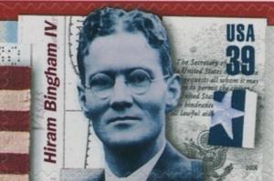 US Stamp Gallery >> Hiram Bingham IV