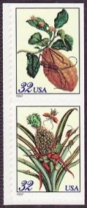 US Stamp Gallery >> Merian botanical prints
