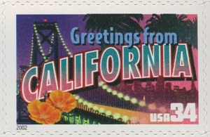 US Stamp Gallery >> California